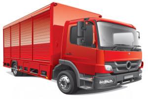 לימוד נהיגה על משאית